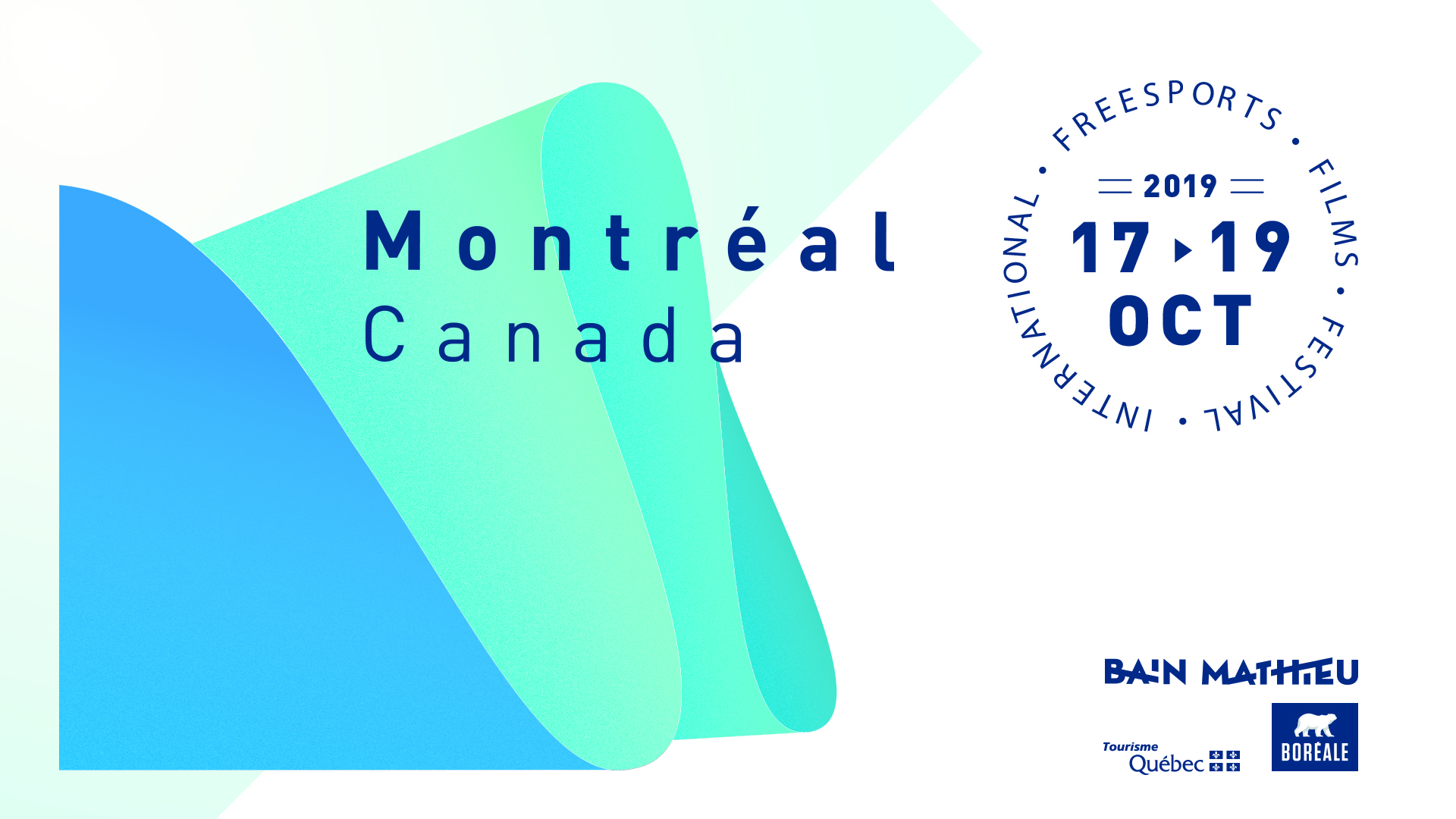 iF3 Montreal 2019! October 17 to 19th